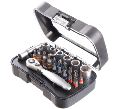26Pcs Bits Ratchet Wrench Set