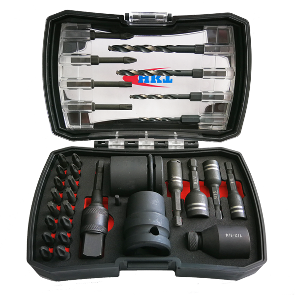 34Pcs Impact Tools Set