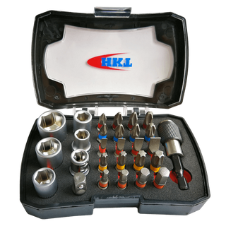 28Pcs Bits and Sockets Set