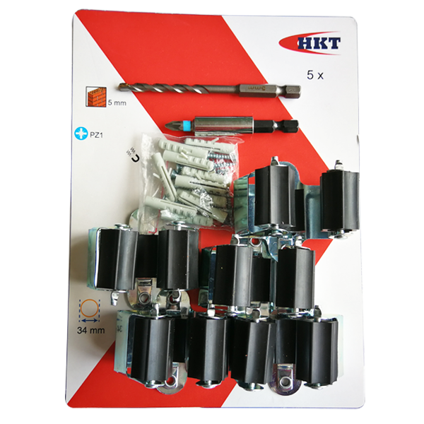 5Pcs Tools Holders with Drill Bit